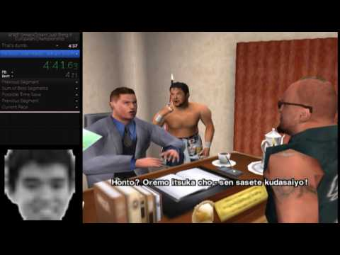 WWF Smackdown Just Bring It! European title speedrun wr 8:15 thumbnail