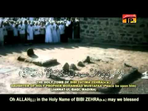 Farhan Ali Waris Noha 2011 Ya Rab Behaq-e-zehra (s.a) video