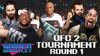 Seth Rollins vs. Big E & Jamie Noble vs. Jimmy Uso: UFC 2 Tournament Round 1 — Gamer Gauntlet