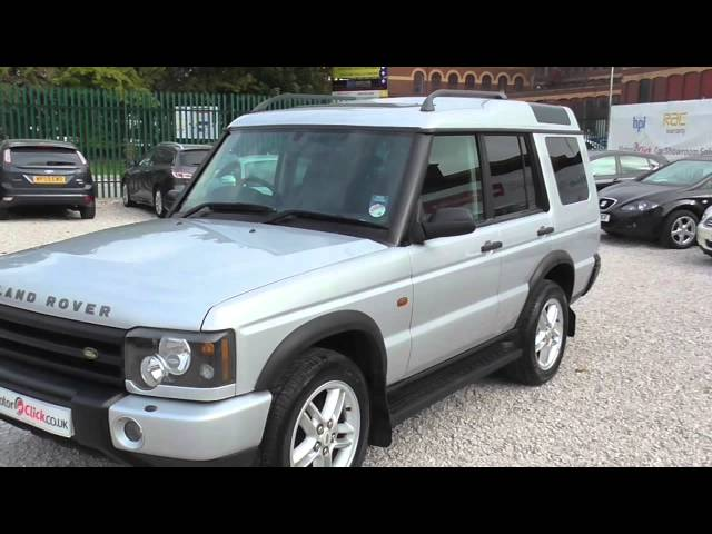 Used Land Rover Discovery TD5 Landmark For Sale Stockport Manchester