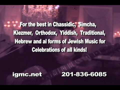 Jewish Wedding Reception Music Bands by IGMC www.igmc.net