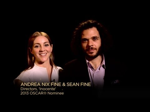 Oscar Nominated Shorts 2013: Sean Fine & Andrea Nix Fine, 'Inocente' (Best Documentary Short)