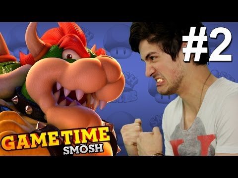WE FIGHT BOWSER IN MARIO 3D WORLD (Gametime)