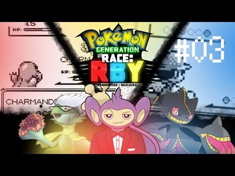 "GENERATION RACE | RBY | Ep: 03 ""Unconsensual Biznatching"" [Randomzied Nuzlocke Verses]"