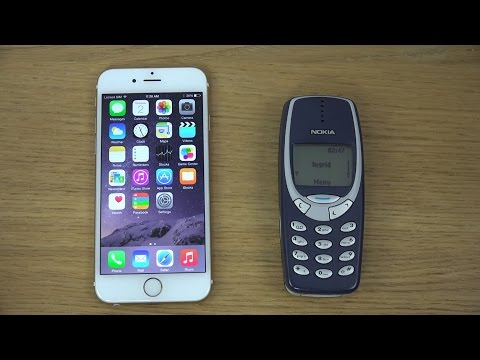 iPhone 6 vs. Nokia 3310 - Which Is Faster?