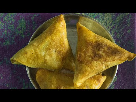 samosas indiens aux legumes blog de cuisine indienne v g tarienne en vid o. Black Bedroom Furniture Sets. Home Design Ideas