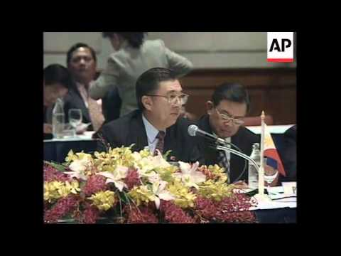 THAILAND: BANGKOK: ASEAN MEMBERS DISCUSS CAMBODIAN ELECTIONS