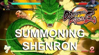 How Summoning Shenron ACTUALLY Works in Dragon Ball FighterZ! Collecting the 7 Dragon Balls