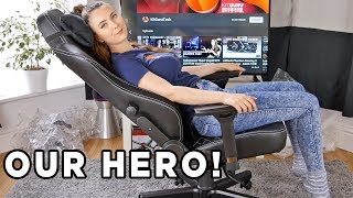 Noblechairs HERO GAMING Chair Review - the HERO for our A$$!