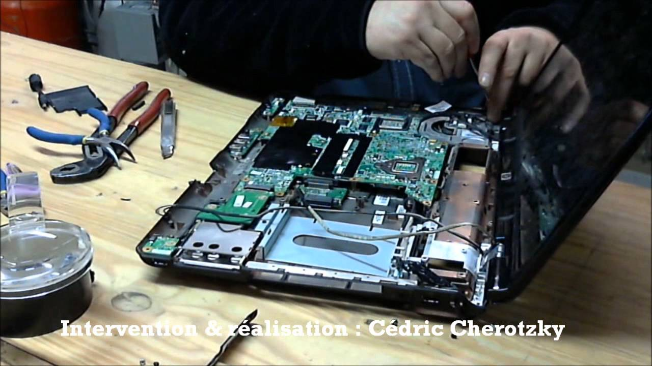 comment reparer tht pc portable