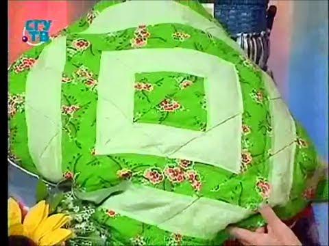Лоскутное шитье. Шьем подушки используя различные рисунки в качестве орнамента. Мастер класс