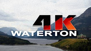 WATERTON LAKES NATIONAL PARK | ALBERTA , CANADA - A TRAVEL TOUR - 4K UHD