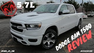 👉 DODGE RAM 1500 LARAMIE PICKUP 2019 MODEL REVIEW - A PICKUP WITH 12 INCH SCREEN ! 👍