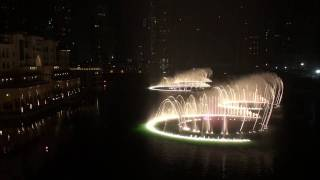 杜拜的人工噴泉(水舞) The Dubai Fountain   Time To Say Goodbye FullHD