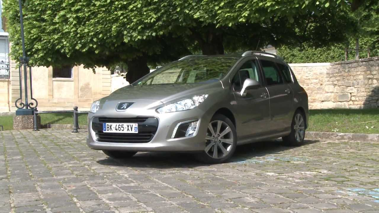essai peugeot 308 sw 2 0 hdi 150 active 2012 youtube. Black Bedroom Furniture Sets. Home Design Ideas