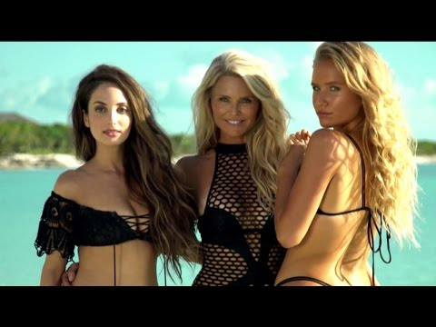 Christie Brinkley, 63, Poses In 'Sports Illustrated' Swimsuit Issue With Daughters