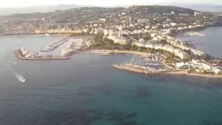 Cannes to Monaco by helicopter