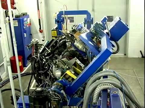 2014 Corvette C7 LT1 Engine Testing on Dyno