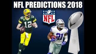 NFL PREDICTIONS 2018 (MVP/SUPER BOWL/WORST TEAMS)