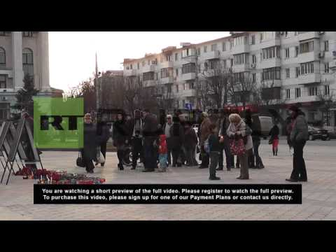 Ukraine: Simferopol mourns fallen Crimean officers killed in Kiev