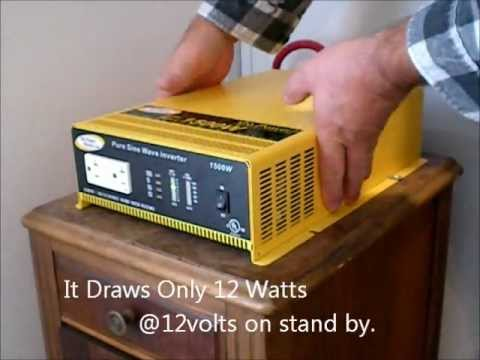 Go Power 1500 Watt Pure Sine Power Inverter 16 Month Review.