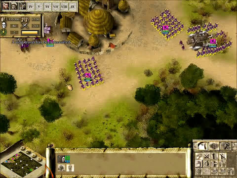 Praetorians Gameplay - .vs CPU (Hard) - 1/2