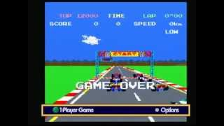 Namco Museum Pole Position (Game Cube) Game Play