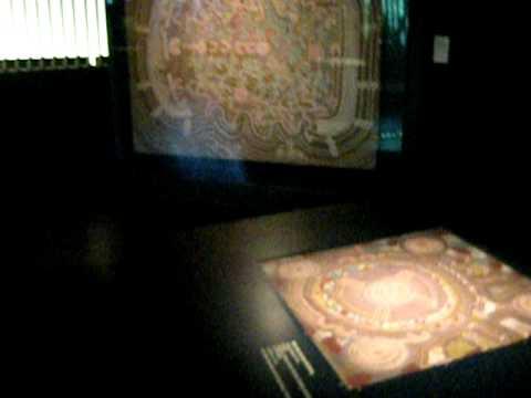 Australian Aboriginal Dream Art at the Quai de Branly Museum in Paris, France