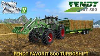 Farming Simulator 17 FENDT FAVORIT 800 TURBOSHIFT SERIES FULL PACK TRACTOR