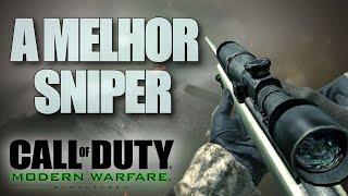 MELHOR SNIPER EVER!! - Modern Warfare Remastered M40A3 Gamepla