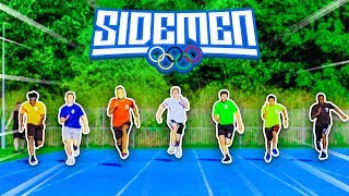 HOW FAST CAN THE SIDEMEN RUN 100M? - SIDEMEN OLYMPICS