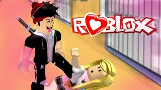 MY BULLY FELL IN LOVE WITH ME??! | Roblox High School Roleplay | Bully Series Episode 1