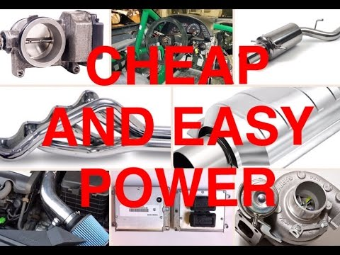 How To Make A Car Faster >> 8 Cheap Modifications To Make Your Car Faster