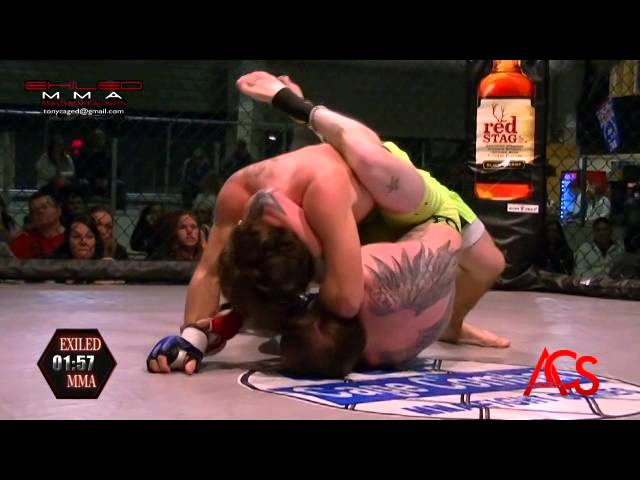 EXILED MMA and ACSLive.TV PRESENTS Dustin Canterbury Vs Justin Cole