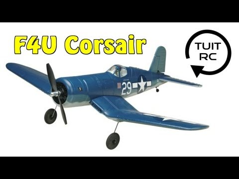 Tower Hobbies Rx-R F4U Corsair Review and Flight