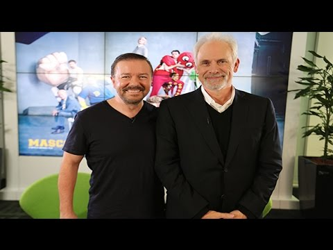 Ricky Gervais And Christopher Guest Discuss Mascots