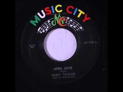Joe Blackwell & The Individuals - Beverly My Darling / Andy Taylor & Individuals - April Love