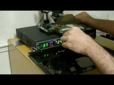 HP DV2000 Blank Screen Nvidia video problem.  BGA reflow Fix!