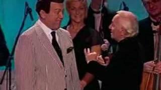 Шарль Азнавур на юбилее Иосифа Кобзона