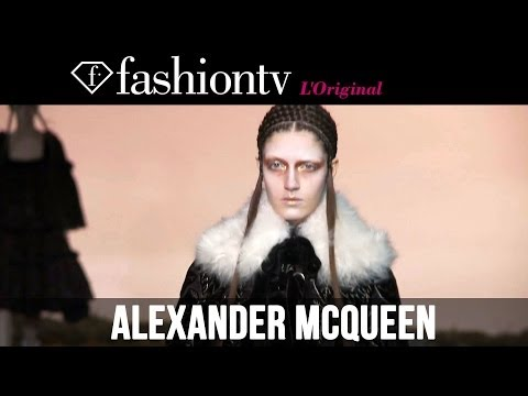 Maartje Verhoef at Alexander McQueen Fall/Winter 2014-15 | Paris Fashion Week PFW | FashionTV