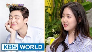 "Jin JiHee's heart dropped when Park Seojun said to her, ""Go out with me.""[Happy Together/2017.09.14]"