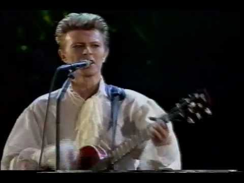 Adrian Belew ft. David Bowie - Pretty Pink Rose live (Tokyo 1990)