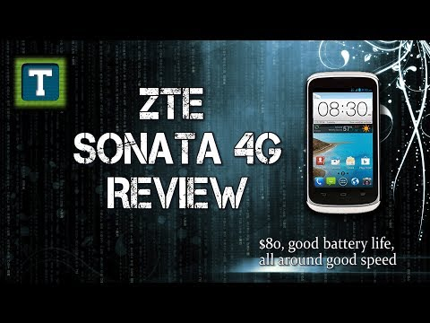 ZTE Sonata 4G Review, Available on Aio Wireless (Part 1)
