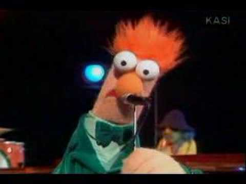 Muppet Beaker sings Yellow by Coldplay