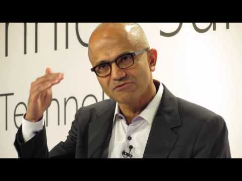 Microsoft CEO Satya Nadella Technical Summit 11.11.2014 Berlin 1