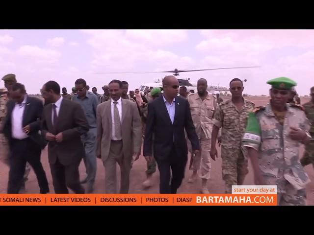Djibouti Donates Food to Somali population in the areas of Beletweyne
