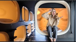 I Stayed In A Japanese Capsule Hotel... Here's What It's REALLY Like
