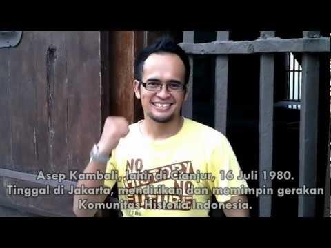 Asep Kambali - Pendiri Komunitas Historia Indonesia