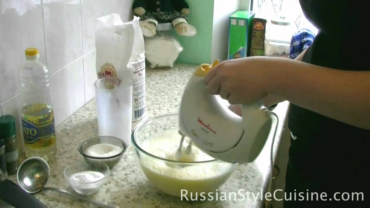 Блины на пол литра молока