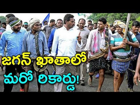 YS Jagan Secured New Record In AP Politics | Jagan Planting A Tree During Padayatra | Indiontvnews